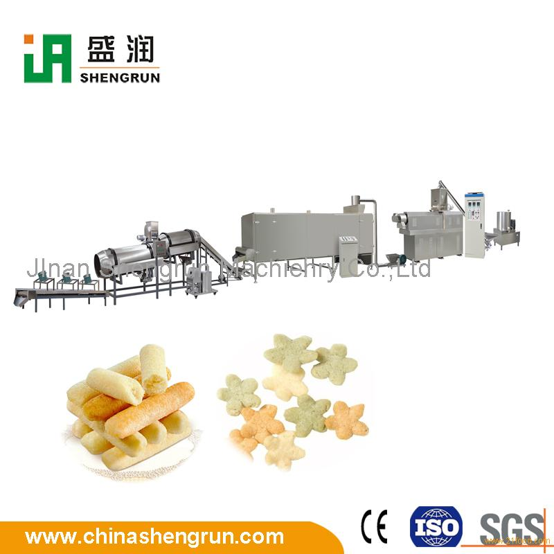 Puffed Snack Extrusion Food Extruder Machinery Production Equipment