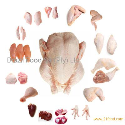 Frozen Whole Chicken and Parts / Gizzards / Thighs / Feet / Paws / Drumsticks
