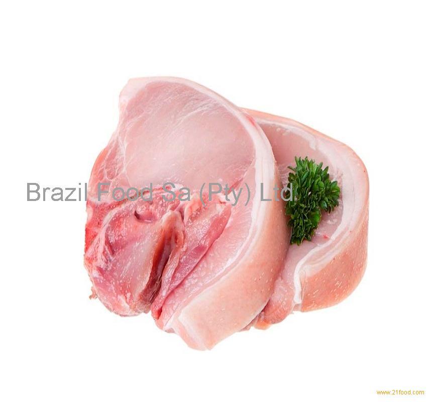 Frozen pork loin bonless skinless