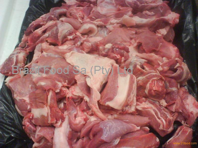 Pork trimming 80/20, from legs and shoulders, in carton