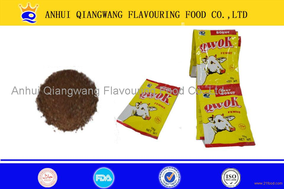 Qwok 10g Halal Beef Seasoning Bouillon Powder