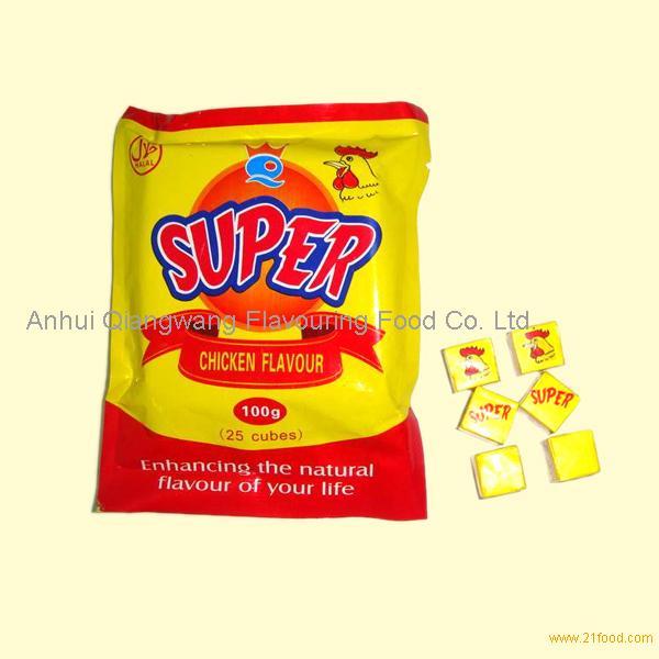 Super 4g Halal Chicken Flavour Seasoning Cubes Bouillon Cubes