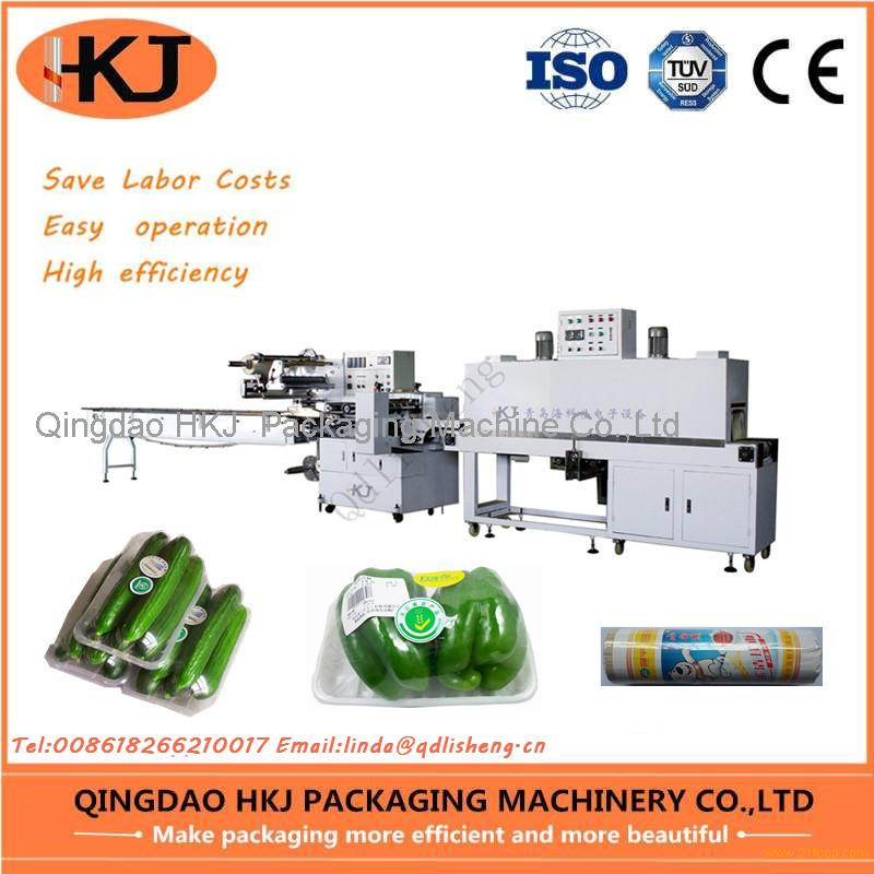 Automatic snacks food packaging machine with computer control