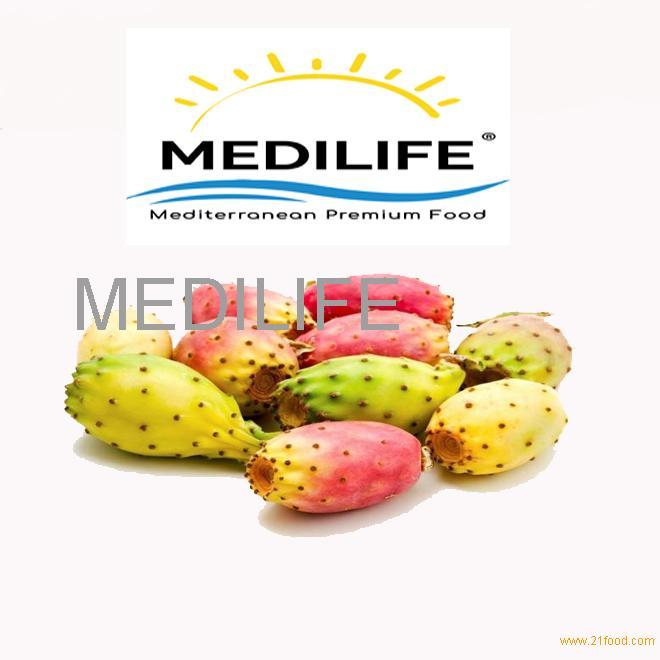 Fresh Prickly Pear. Mideterranean Healthy Fruit