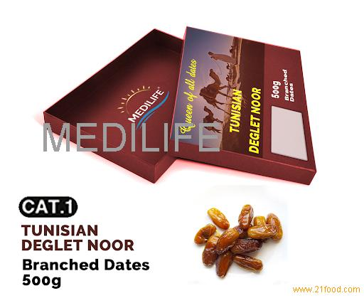 Branched Dates Deglet Nour 500 gr ; Sweet Dates for Ramadan