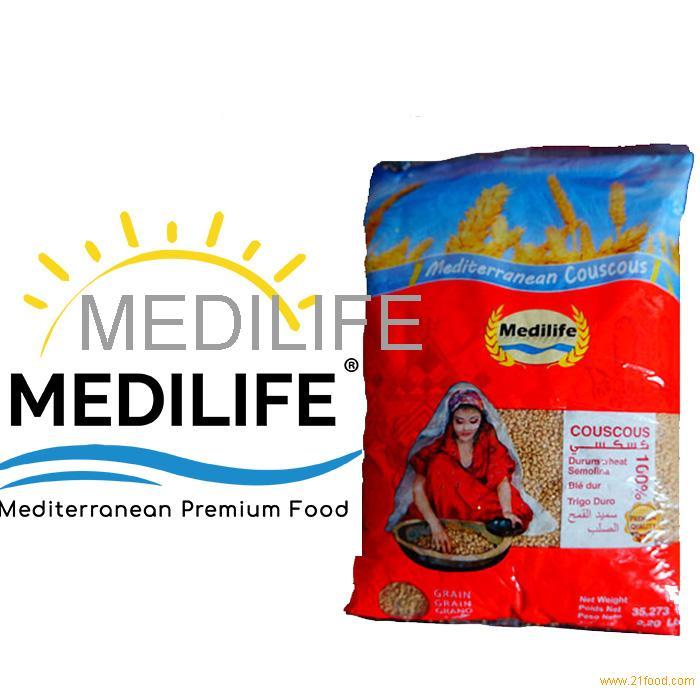 """Israeli Couscous """"M''hammes"""" . FDA Certification. Thick Grain Retail Bag 1Kg"""