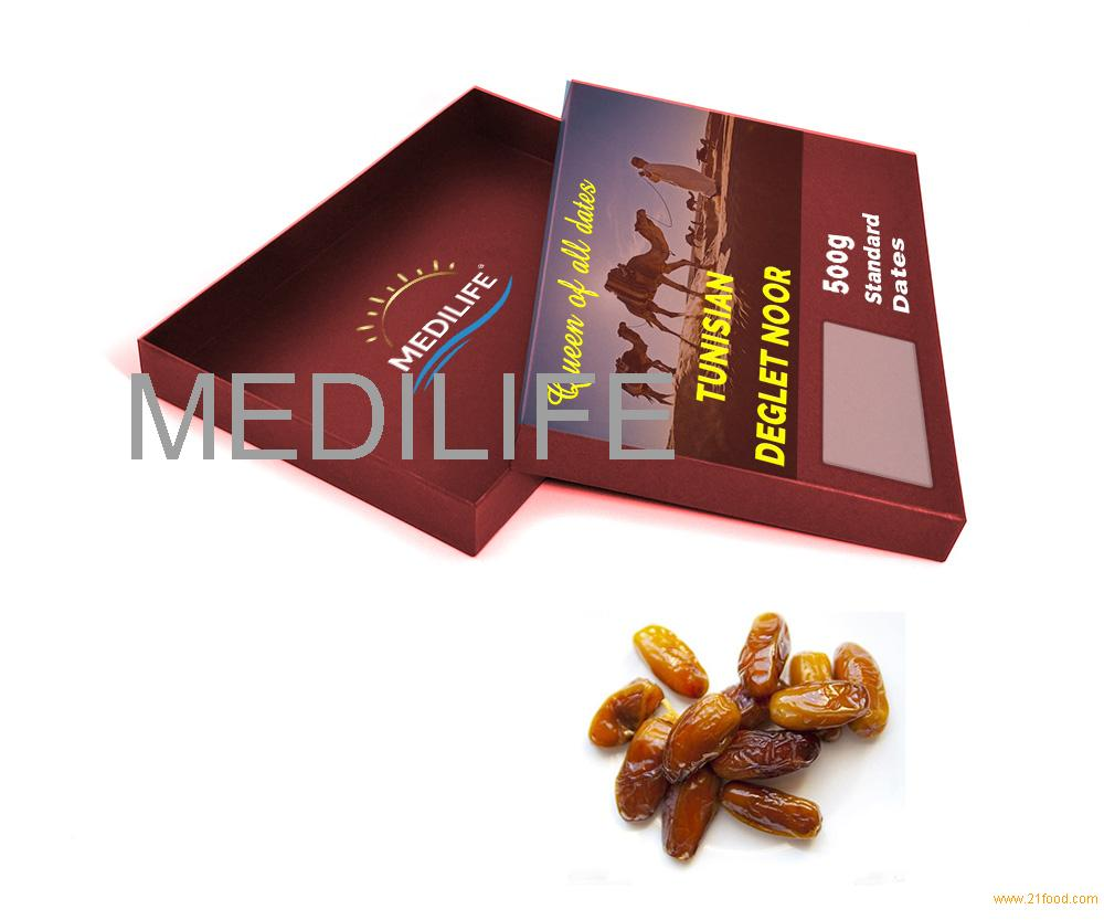 Standard Dates 500 gr Carton Box