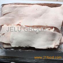 Frozen Pork fat skin off, pork backfat skinless, Frozen pig fat