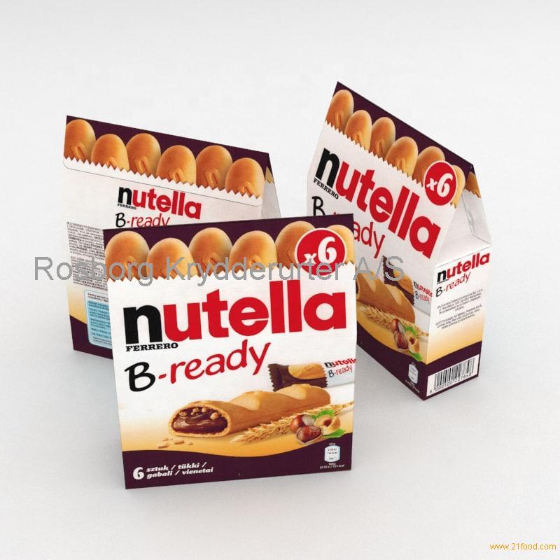Nutella Ferrero B-ready x6 for sale