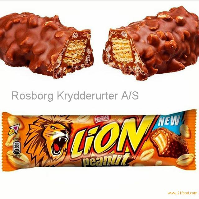 Nestle Lion chocolate bar 42g, Lion white, Lion peanut supply from Germany