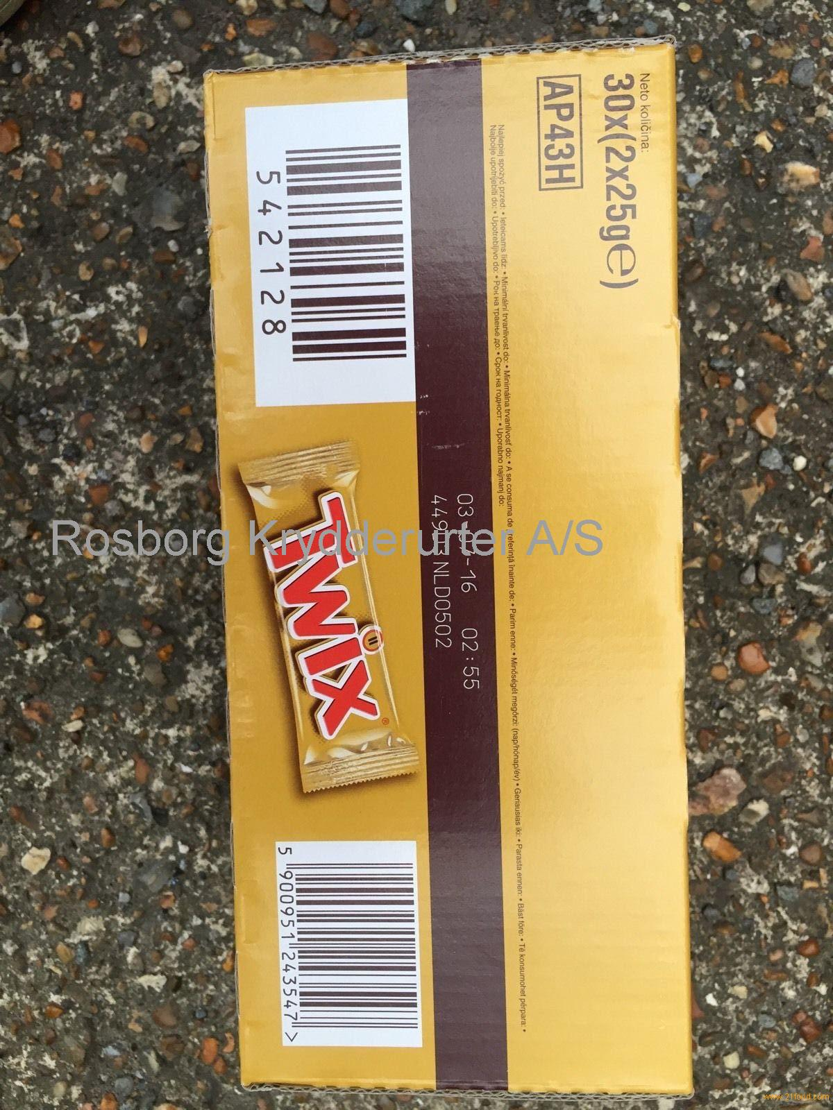 Twix Miniatures boxed 260 gr for sell