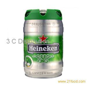 Dutch Heineken Beer 5L keg