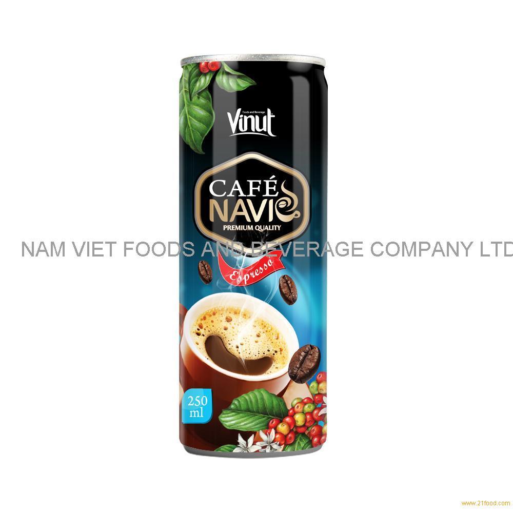 250ml VINUT Navi Premium Cold Brew Espresso Coffee