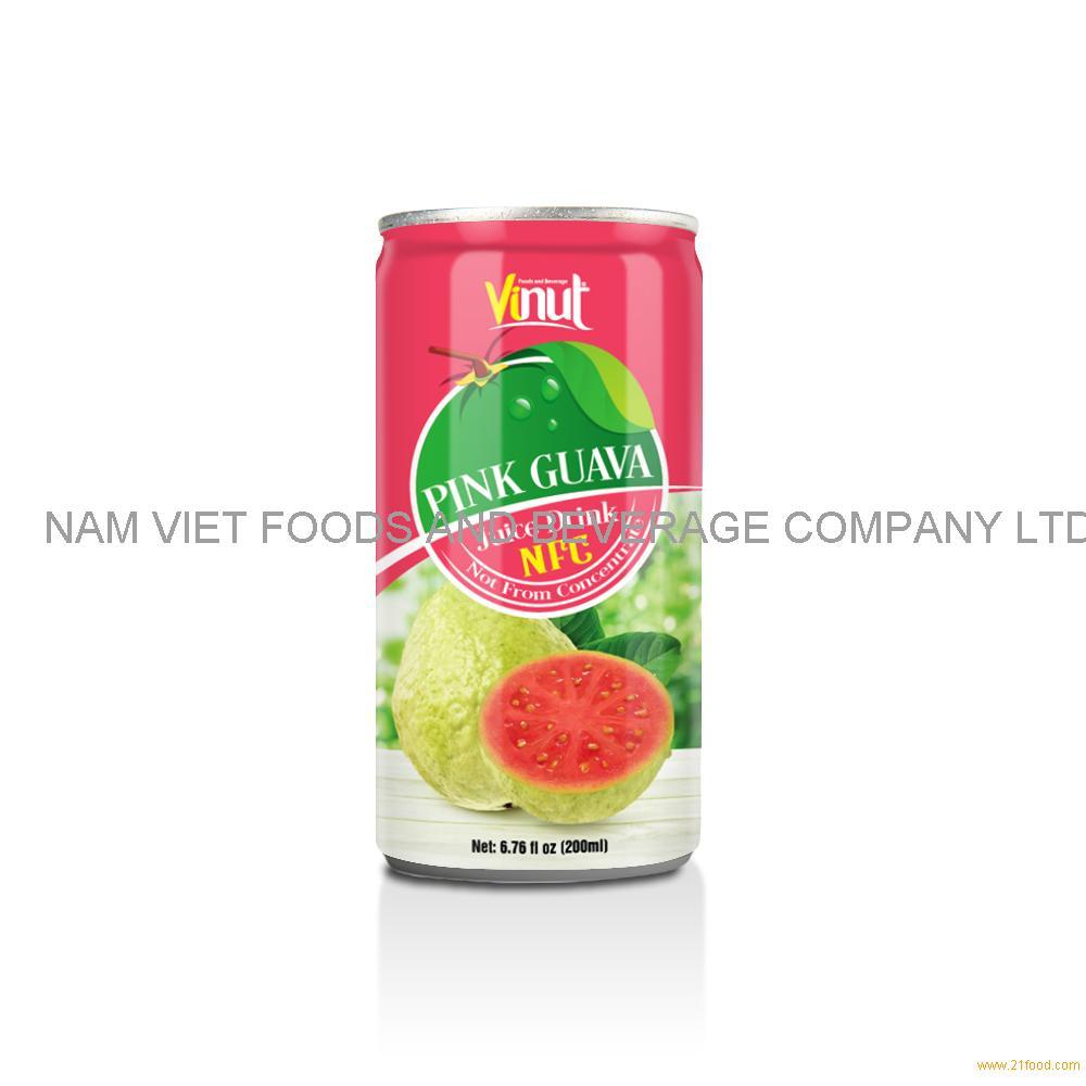 6.76 fl oz VINUT NFC Guava Juice Drink