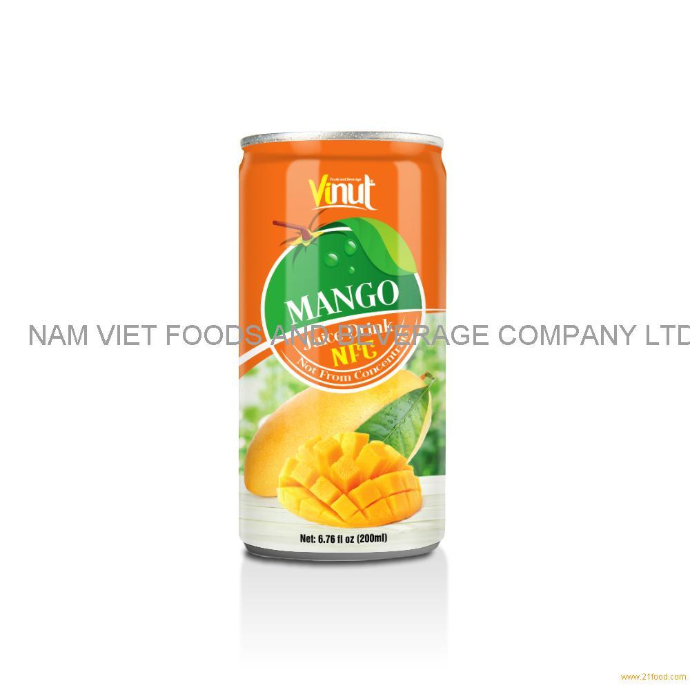 6.76 fl oz VINUT NFC Mango Juice Drink