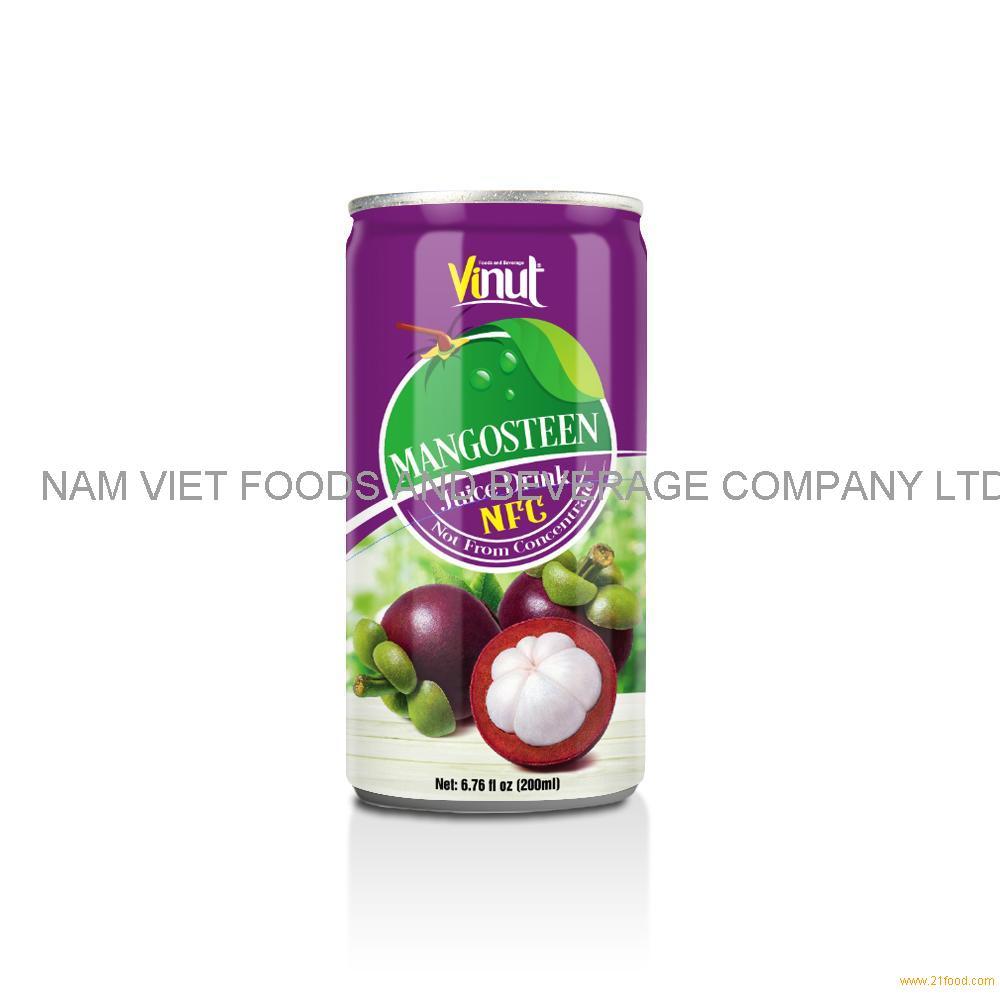 6.76 fl oz VINUT NFC Mangosteen Juice Drink