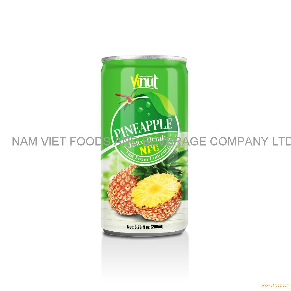 6.76 fl oz VINUT NFC Pineapple Juice Drink