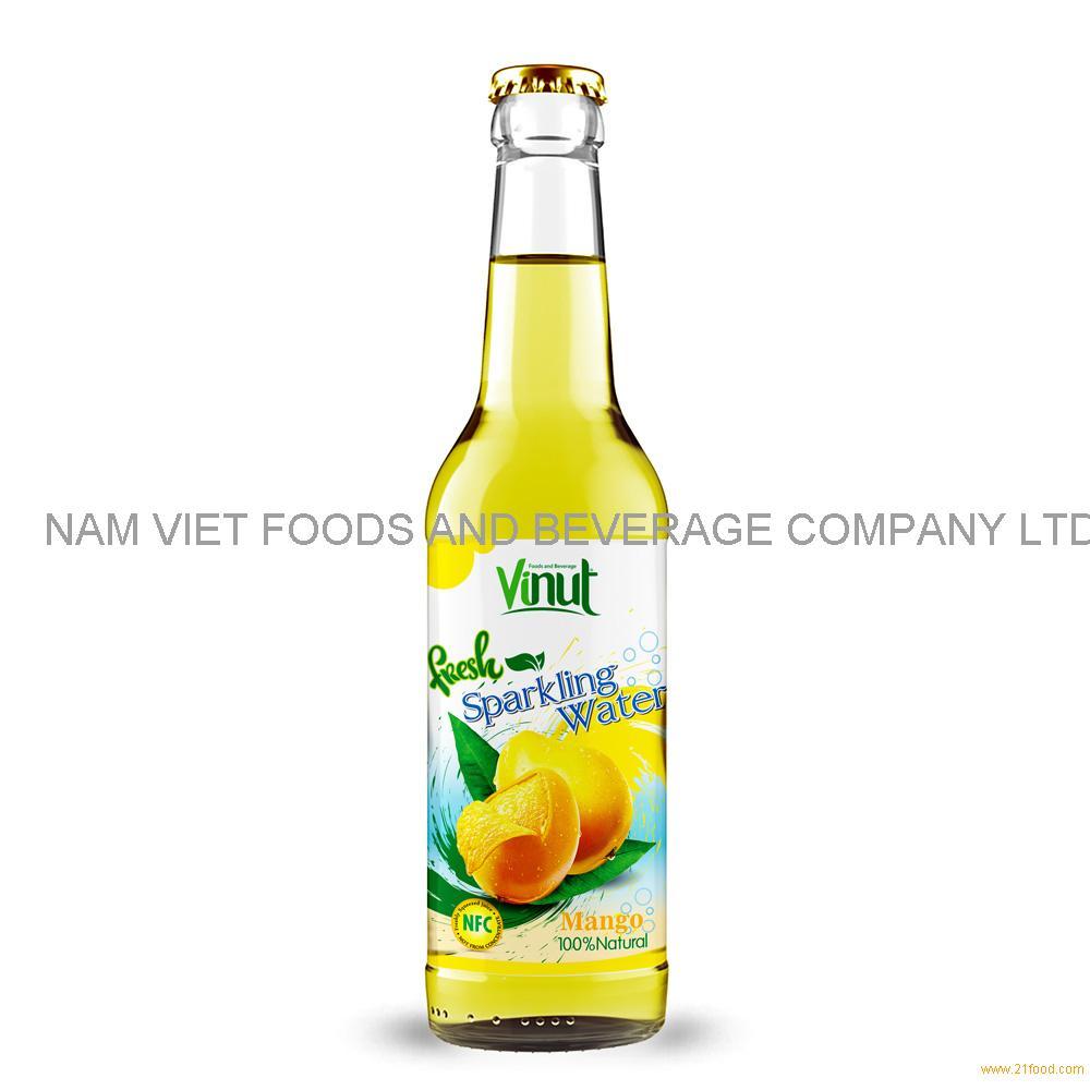 500ml VINUT Bottle Fresh Mango juice Sparkling water