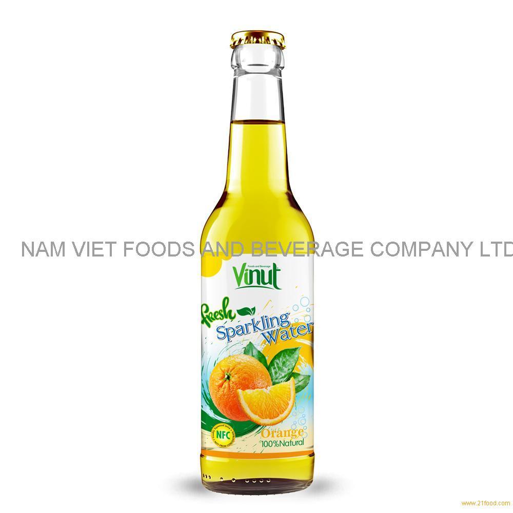 500ml NAWON Bottle Fresh Orange juice Sparkling water