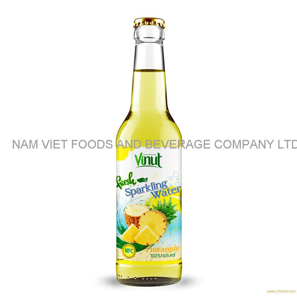 500ml VINUT Bottle Fresh Pineapple juice Sparkling water