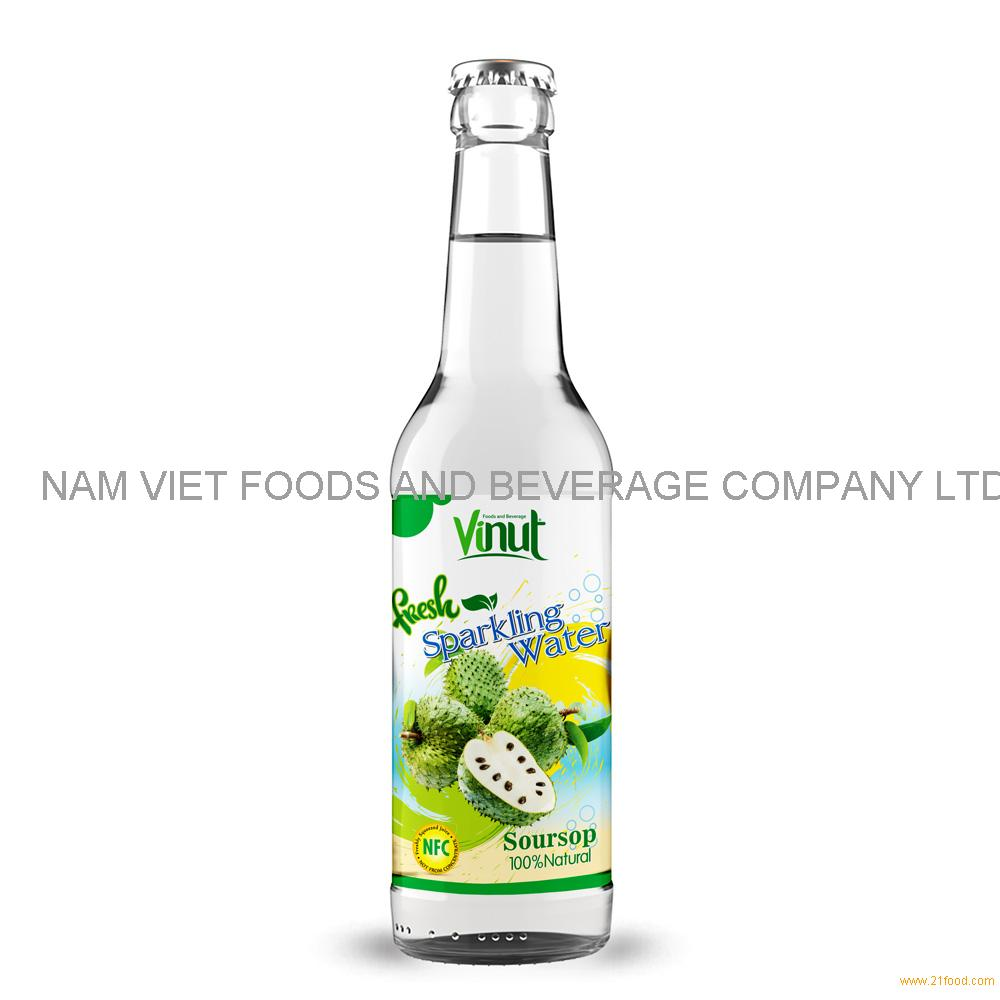 500ml VINUT Bottle Fresh Soursop juice Sparkling water