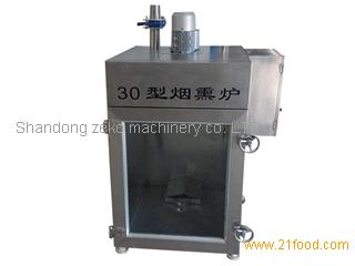 Automatic colored bean curd smoke oven/bacon smoking furnace