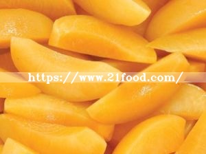 First Quality Frozen Yellow Peach Chips
