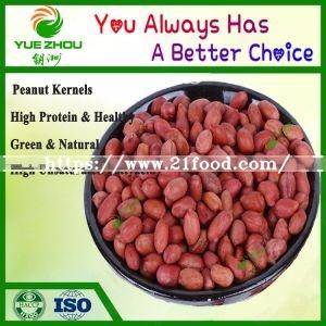 60/70 Red Skin Peanuts Kernerls with 25kg Vacuum Bag Packing