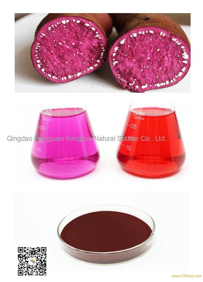 manufacture purple sweet potato color