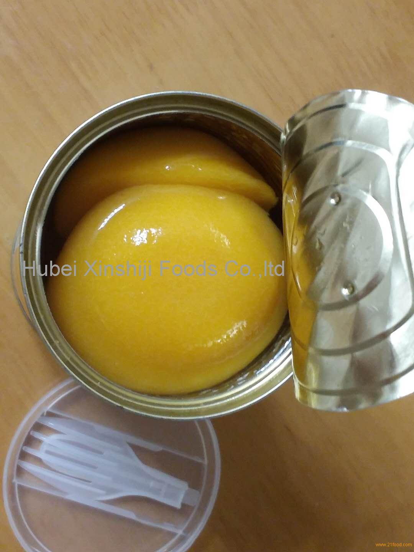 Консервированные фрукты желтый персик