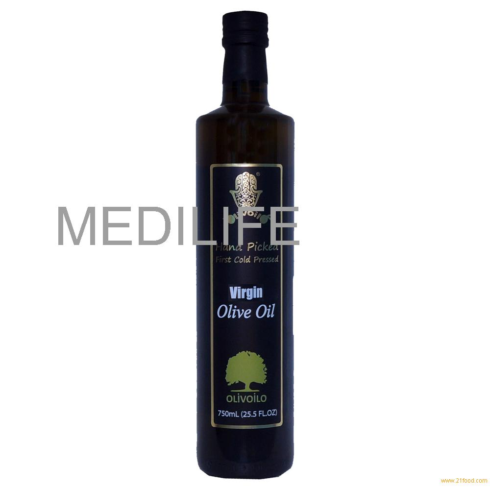 Hot Sale High-quality Extra Virgin Olive Oil . 100% Virgin Olive Oil, 750 ml Glass Bottle with FDA.C