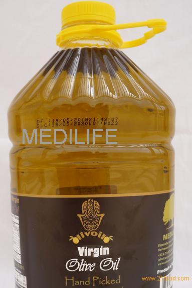 High Quality Tunisian Virgin Olive Oil in Bulk, 5L Plastic Bottle,Virgin Olive Oil in Bulk