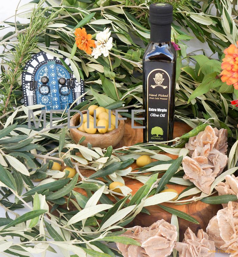 Extra Virgin Olive Oil in 250mL Glass Bottle Marasca