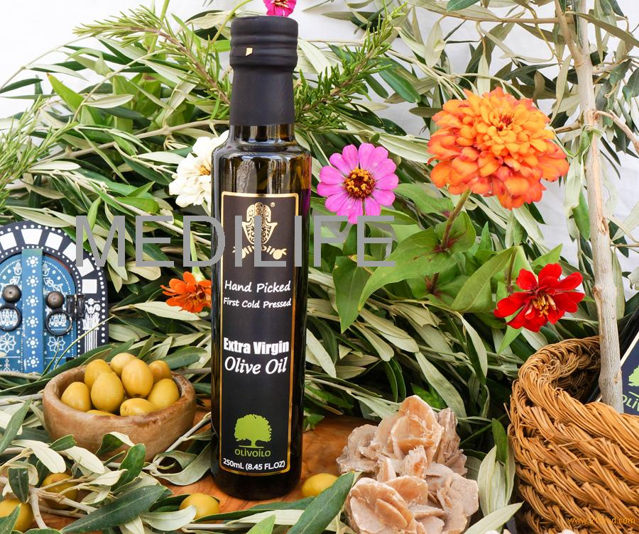 Dorica 250mL Extra Virgin Olive Oil.Certified Olive Oil. Pure Tunisian Olive Oil