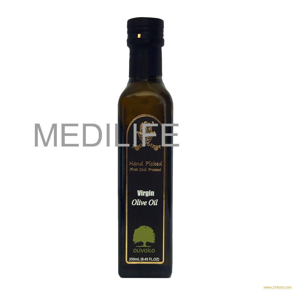 glass bottle olive oil. Monovarietal Chetoui Olives, Bitter and pungent taste 250mL, 0.8% Acidity