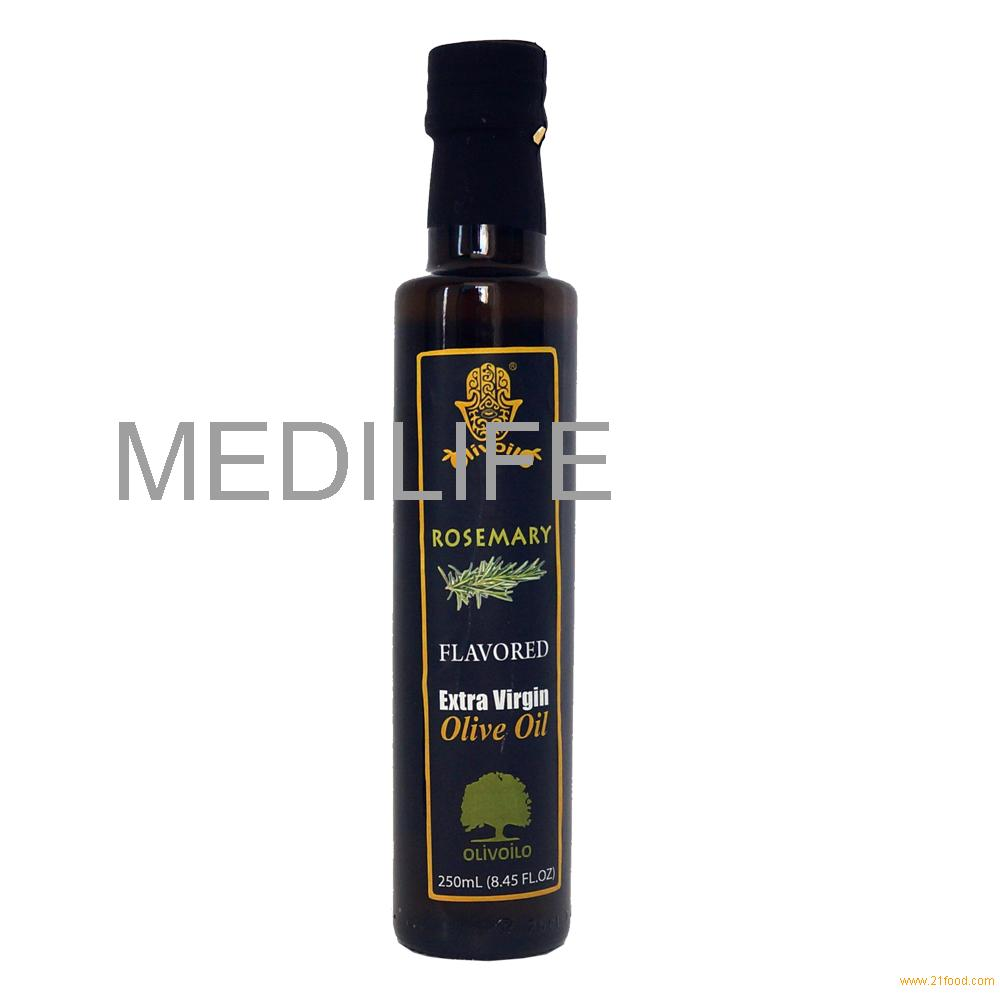 Extra Virgin Flavored Olive Oil with Rosemary, 250 ml. FDA certified