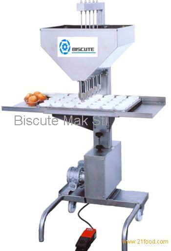 Semi Automatic Cup Cakes Filling Machine