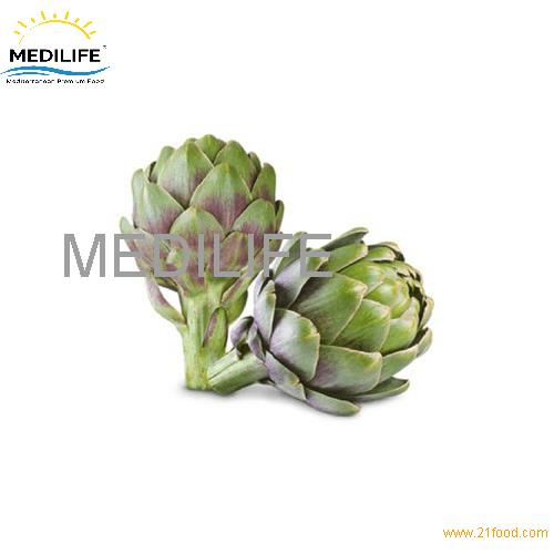 White Artichoke. Mediterranean Fresh Artichoke for Sell