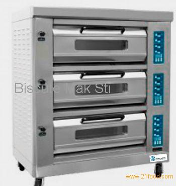 Three Deck Electric Pizza Oven