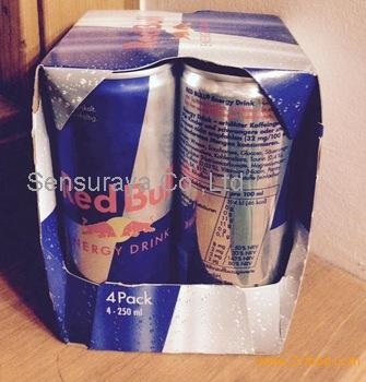 Red Bull, Redbull Classic and other energy drinks available in Germany