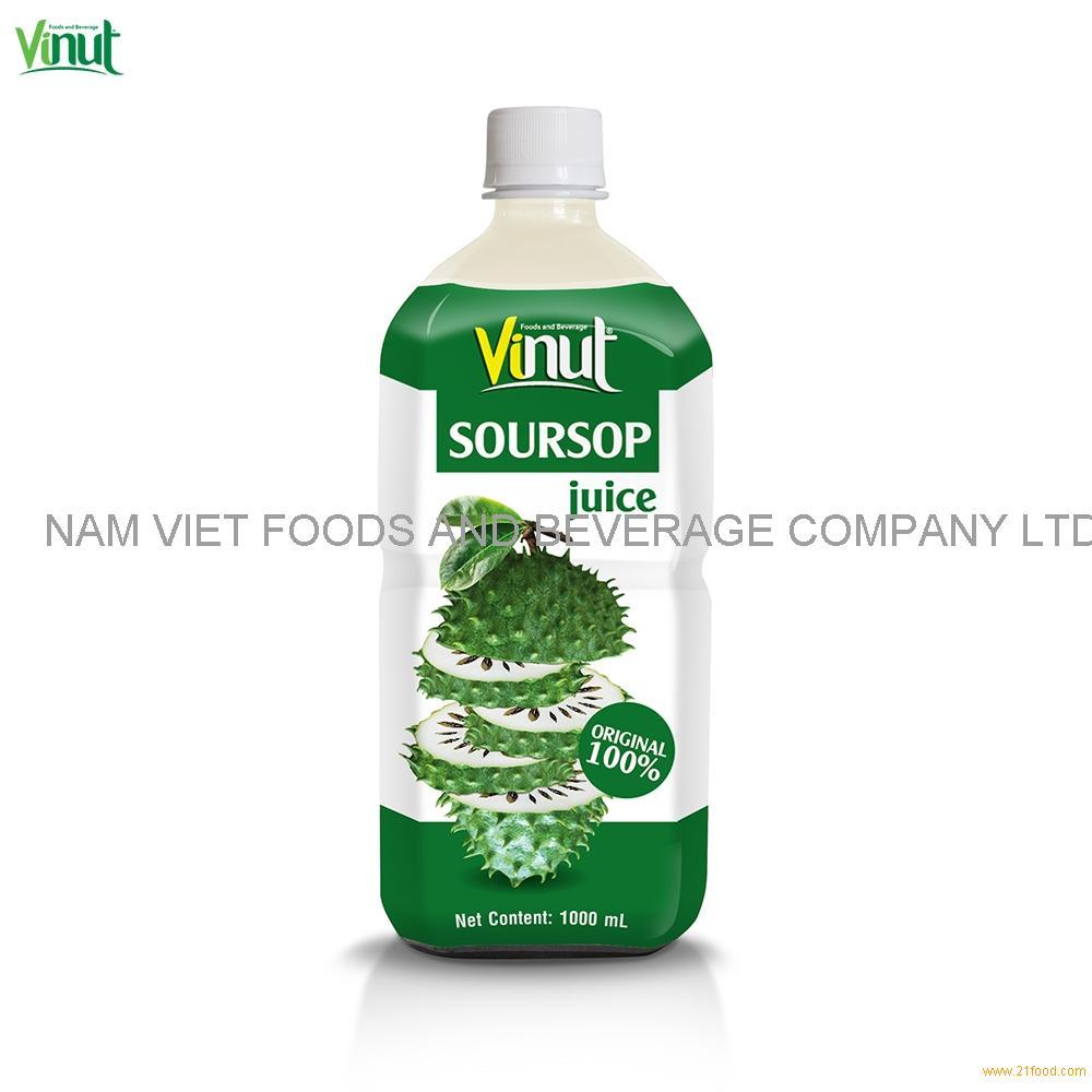1L VINUT Original Bottle Soursop Juice Drink
