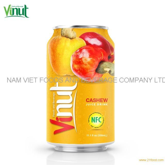 330ml VINUT NFC Cashew Juice Drink