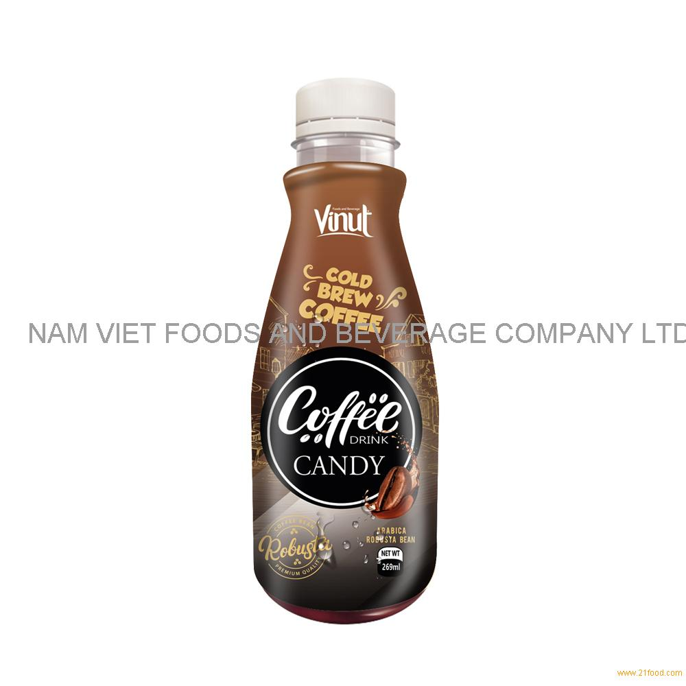 269ml Premium Cold Brew Coffee Drink with Candy