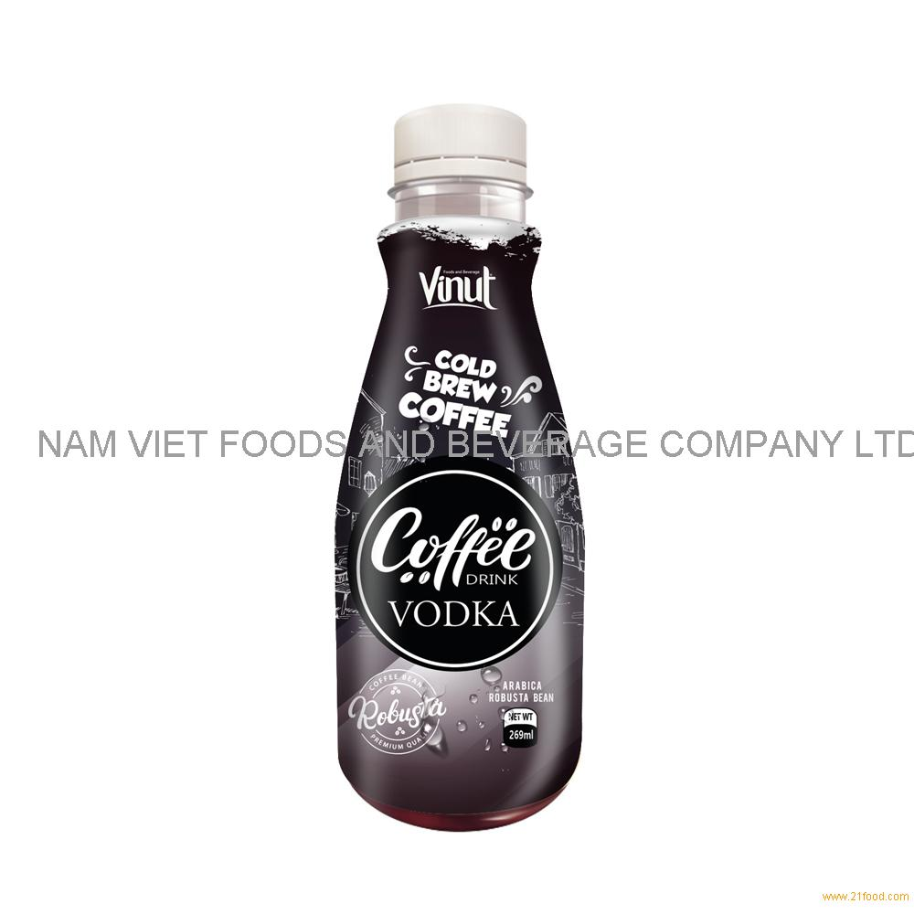 269ml Premium Cold Brew Coffee Drink with Vodka