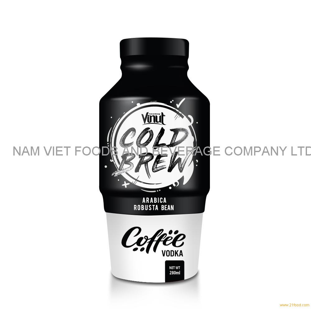 280ml VINUT Cold Brew Coffee Drink with Vodka