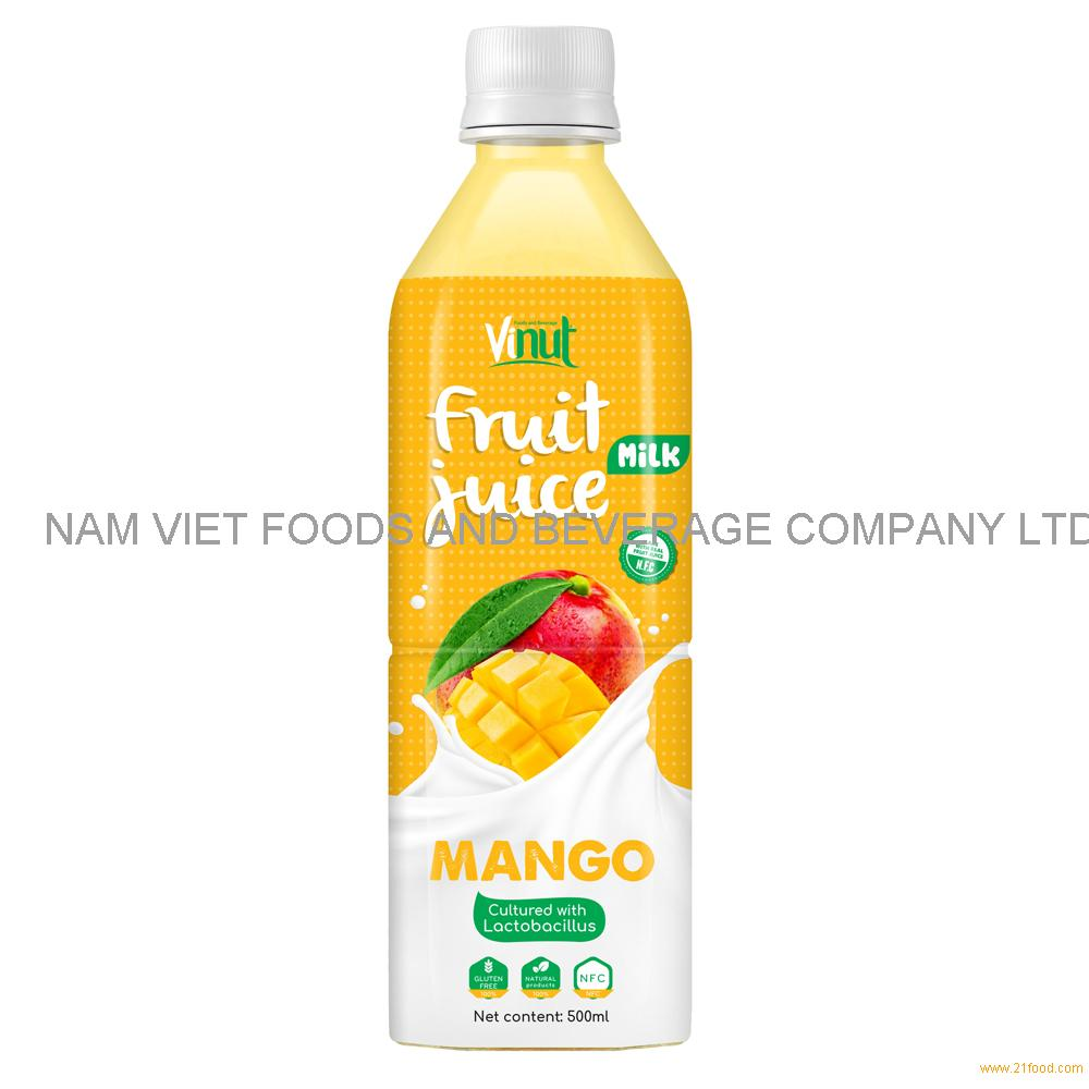 500ml VINUT Health Drink Lactobacillus acidophilus with Mango Juice