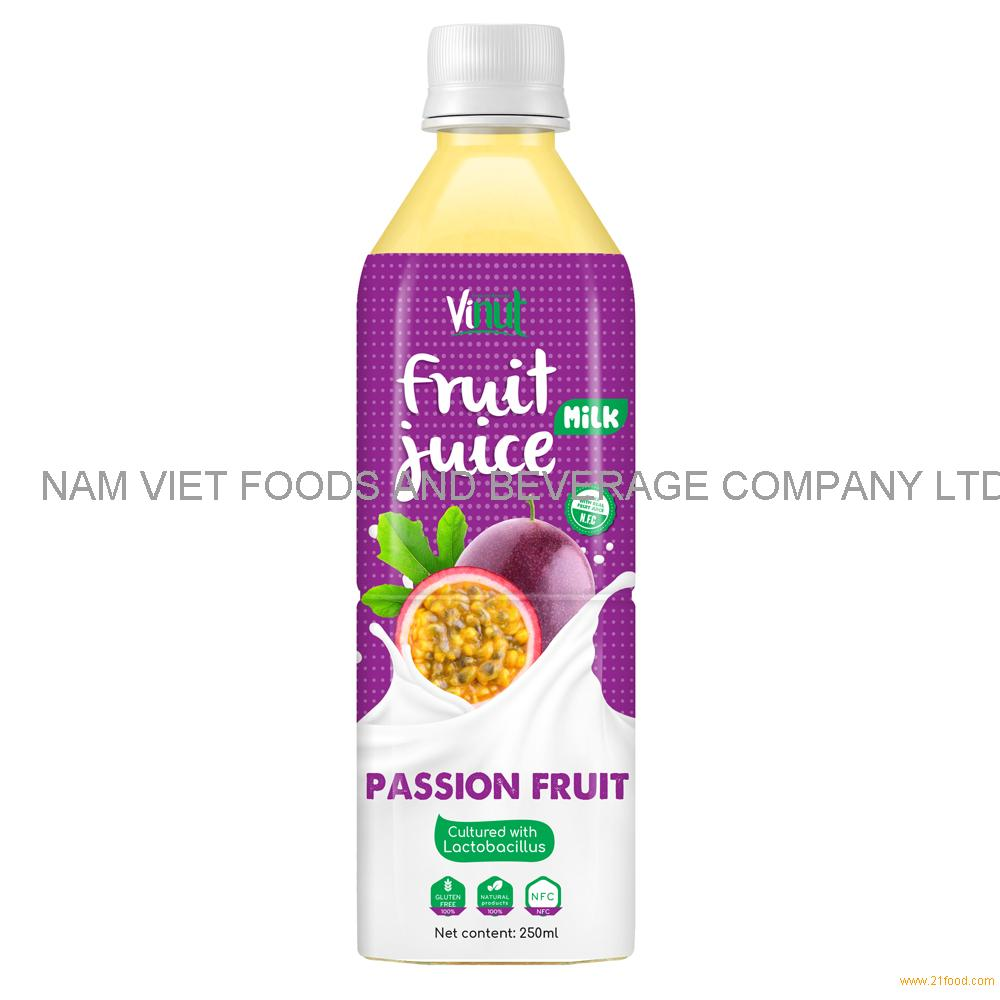 500ml VINUT Health Drink Lactobacillus acidophilus with Passion Juice