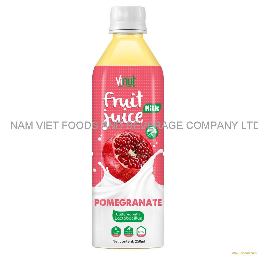 500ml VINUT Health Drink Lactobacillus acidophilus with Pomegranate Juice