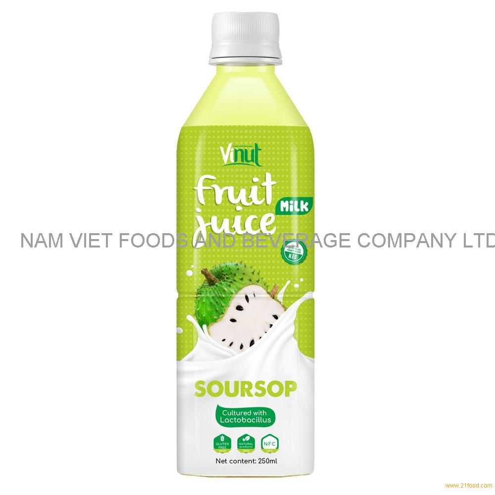 500ml VINUT Health Drink Lactobacillus acidophilus with Soursop Juice