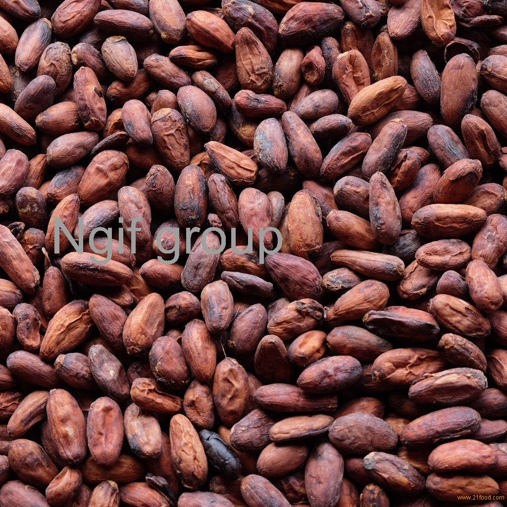 Cocoa, coffee beans